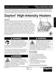 dayton 3e134e troubleshooting guide