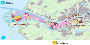 map port map port of rotterdam por