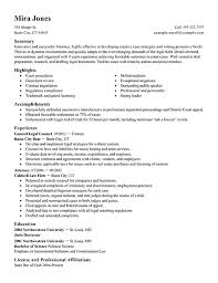 lawyer resume template best lawyer resume exle livecareer