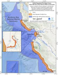 Cambria Map Mbnms Overflight Map