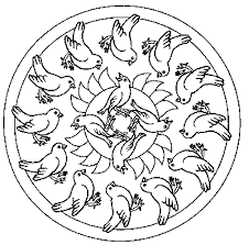 dove mandala coloring pages mandala coloring pages of