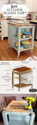 how to build a kitchen island cart 15 easy diy kitchen islands that you can build on a budget