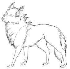 Wolf Template Animal Templates Free Premium Templates Wolf Pack Coloring Pages