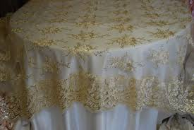 cheap lace overlays tables table linens linens and beyond wedding ideas pinterest
