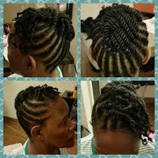 flat twist updo u2013 the hair garden u2013 natural hair education