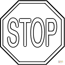 Coloring Page Of A Stop Sign Coloring Page Free Printable Coloring Pages by Coloring Page Of A