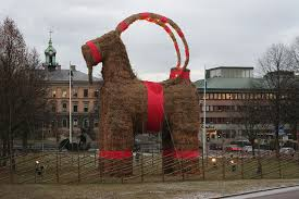 swedish christmas decorations julbock the swedish christmas goat something swedish