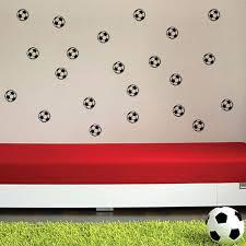 20 piece set football soccer ball wall sticker decals big 20 piece set football soccer ball wall sticker decals