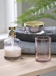 blushing pale pink bathroom ideas homegirl london pink glass