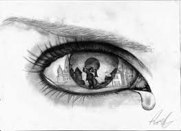 pictures crying eyes sketch step by step drawings art gallery
