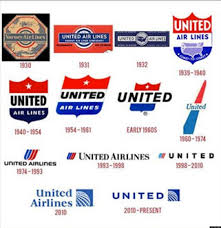 United Airlines Flight Change by Airline Logos A Look At 90 Years Of Airline Logos Huffpost