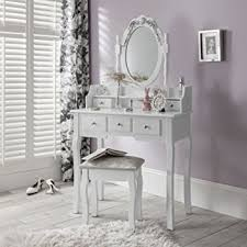 coiffeuse pour chambre agtc0010 chaise pour coiffeuse blanc meuble miroir de chambre
