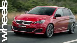 peugeot aust peugeot 308 gti review car reviews wheels australia youtube