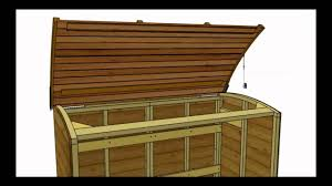 Plans To Build Wood Storage - canterbury wood storage bin youtube