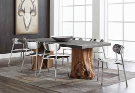 Sunpan Dining Chairs Sunpan Kismet Dining Table And Stanley Chairs Contemporary
