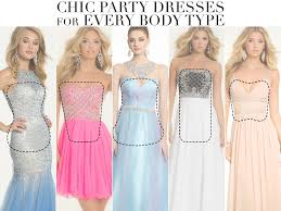 dress styles prom dresses and party styles for different types camille