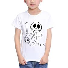 teeheart boys s modal t shirt the nightmare before