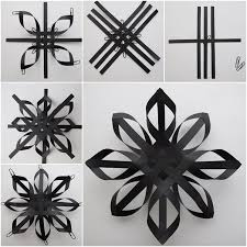25 unique paper snowflakes ideas on diy snowflakes