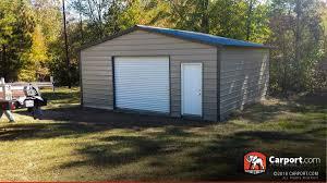 Garage With Carport Metal Garages Order A Steel Garage And Metal Garage Kits
