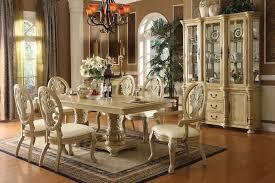 Solid Wood Formal Dining Room Sets Antique White Dining Room Sets