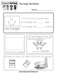 free kindergarten shapes worksheets trace identify and count
