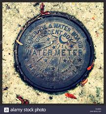 water meter new orleans style new orleans water meter cover stock photo 310491405 alamy
