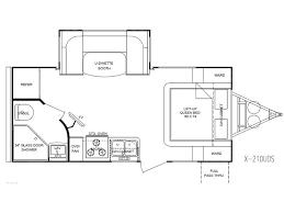 Floor Plan Finder Fun Finder X 2012 X 210uds Travel Trailers