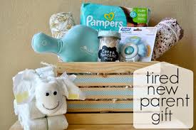 new gift baskets testers tired new parent gift basket with pers