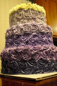the kroh u0027s nest purple ombre rose cake