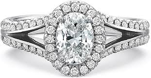 precision set rings precision set split shank diamond engagement ring 2860