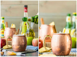 best cocktails for thanksgiving apple pie moscow mule plus mocktail version the cookie rookie