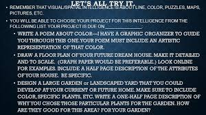 make a floor plan of your house multiple intelligences ppt video online download