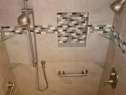 bathroom glass tile accent ideas home design ideas