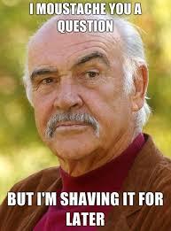 Mustache Ride Meme - it s been a good mustache ride sometimes blonde