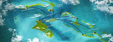 Nassau Map Bahamas Ferries We Make The Connection