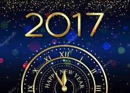 happy new year backdrop 2017 happy new year background with gold clock for poster banner