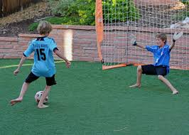 soccer goals backyard home decorating interior design bath
