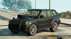military land rover rover sport military for gta 5