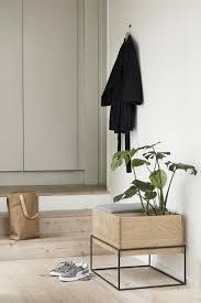 Design Esszimmer Bank Esszimmerbank Eiche 61 Cm Mit Kissen Naturell Grau Hubsch