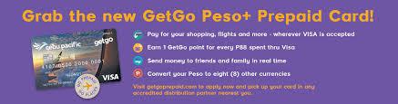 go prepaid card getgo the lifestyle rewards program