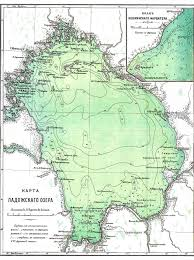 Map Russia Lake Ladoga From Imperial Era Russian Encyclopedia Map Ladoga