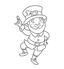 d day coloring pages leprechaun coloring pages dr odd
