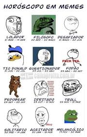 Which Meme Are You - meme horoscope