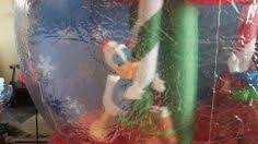 disney mickey minnie donald merry go globe animated