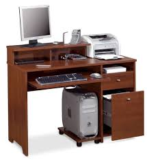 Office Furniture Components by Amazon Com Bestar Legend Computer Workstation Tuscany Brown