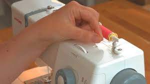 how to wind your bobbin with a janome sewing machine you janome
