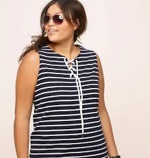 striped sleeveless dress plus size dress loralette