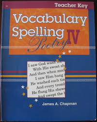 a beka books spelling vocabulary poetry 6 teacher edition text 6th