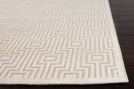 Solid Color Area Rug Fables Collection Valiant Viscose And Chenille Area Rug In