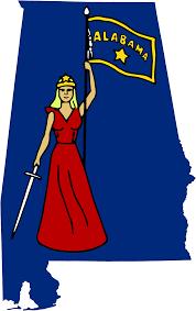 Flag Of Alabama File Flag Map Of Alabama 1861 Svg Wikimedia Commons